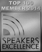 Top 100 Member 2014 Speakers Excellence